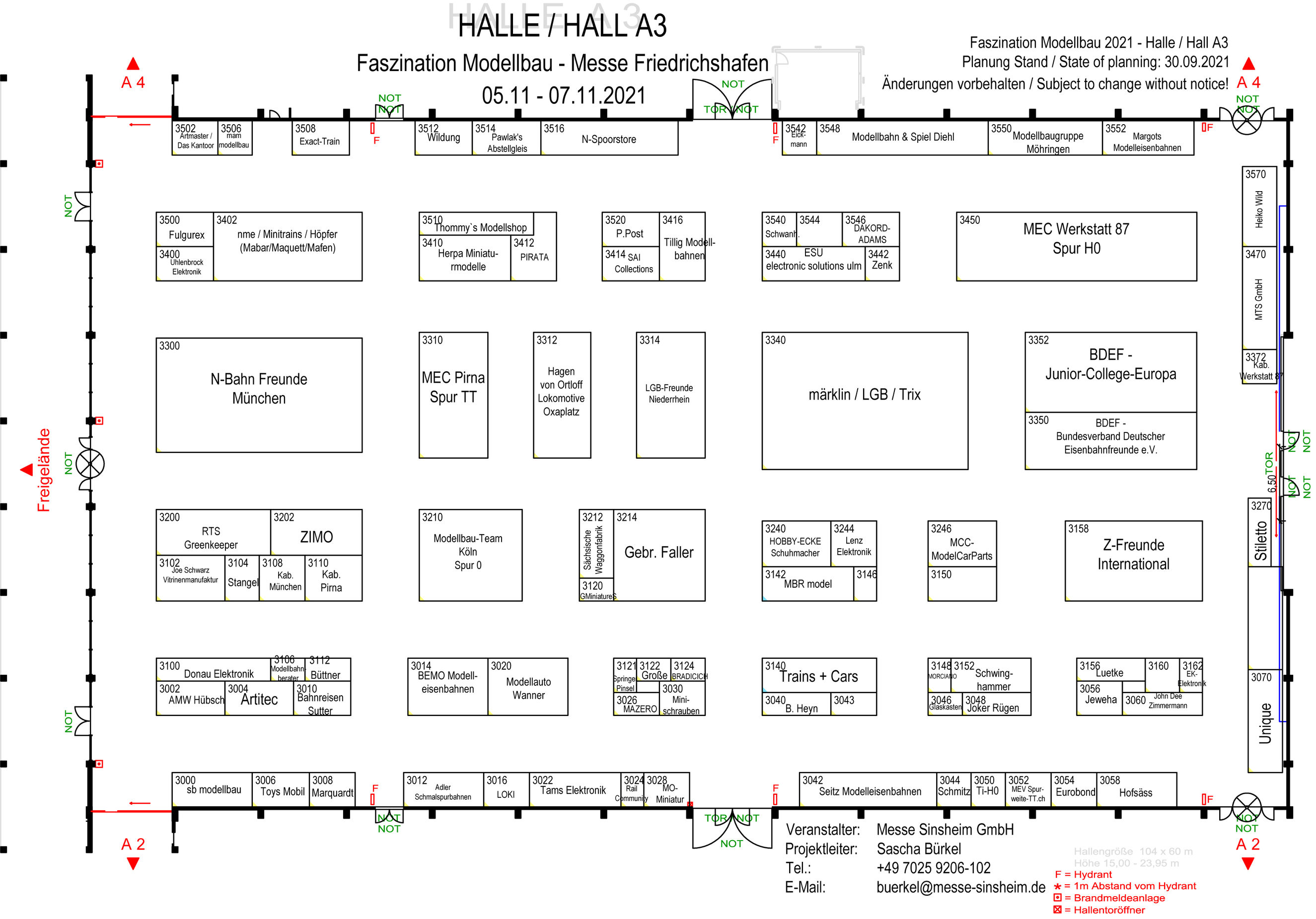 Halle A3
